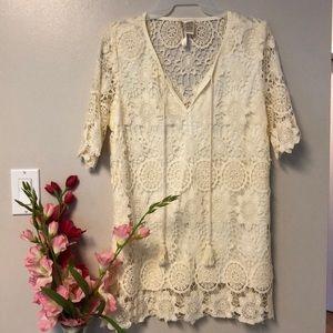Simply irresistible boho knit top